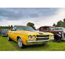 Chevelle Muscle Photographic Print