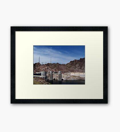 Hoover Dam Environment Framed Print
