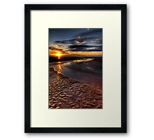 Welsh Sunset Framed Print