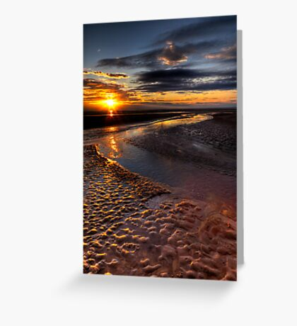 Welsh Sunset Greeting Card