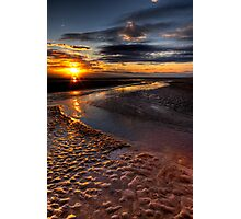 Welsh Sunset Photographic Print