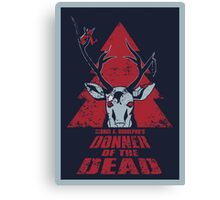 Donner of the Dead Canvas Print