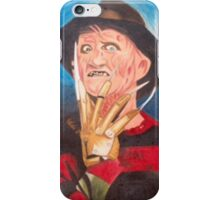 freddy kruger iPhone Case/Skin