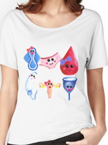 The cutest time of the month –  Gouache Women's Relaxed Fit T-Shirt