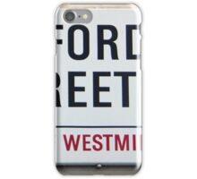 Oxford Street W1 Sign iPhone Case/Skin