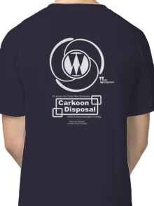 Carkoon Disposal (white) Classic T-Shirt