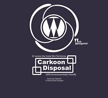 Carkoon Disposal (white) Zipped Hoodie