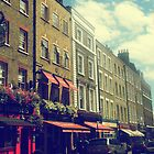 picturesque london street  by Alice Thorpe