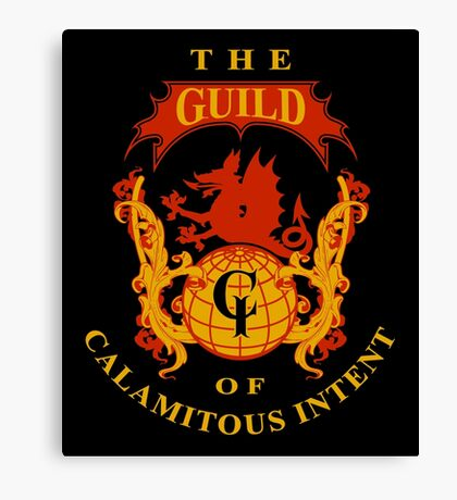 The Guild of Calamitous Intent - The Venture Brothers Canvas Print