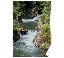 Franklin Falls, Denny Creek, Snoqualmie Forest Poster