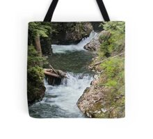 Franklin Falls, Denny Creek, Snoqualmie Forest Tote Bag