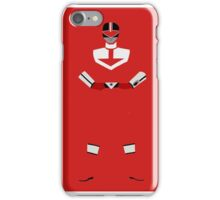Power Rangers Time Force Red Ranger iPhone Case iPhone Case/Skin