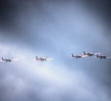 Battle of Britain Memorial Flight by Nigel Bangert