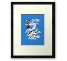 UP Peanuts Framed Print