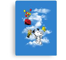 UP Peanuts Canvas Print