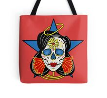 Wonder Woman Sugar Skull Tote Bag