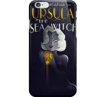 URSULA THE SEA WITCH iPhone Case/Skin