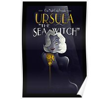 URSULA THE SEA WITCH Poster