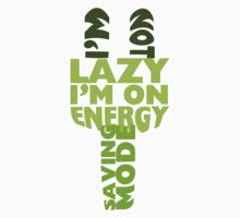 I'm On Energy Saving Mode Kids Tee
