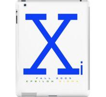 Xi Turns Ten iPad Case/Skin