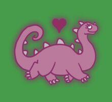 Cuteosaurus One Piece - Short Sleeve