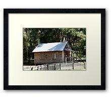 Cracker Church Replica Framed Print
