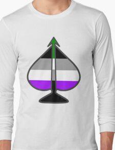 Arrow Through the Spade Long Sleeve T-Shirt