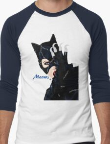 Catwoman Returns  Men's Baseball ¾ T-Shirt