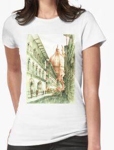 Santa Maria Del Fiore Womens Fitted T-Shirt