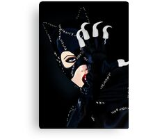 Catwoman Returns  Canvas Print