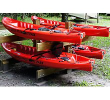 Silver River Kayaks Photographic Print