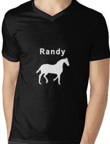 Randy Mare Mens V-Neck T-Shirt