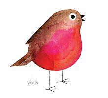 Little red robin goes bob, bob, bobbin' along... by VVIIXX