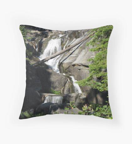 The Complete Bear Creek falls Throw Pillow
