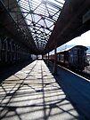 The Longest Railway Platform in NZ by Odille Esmonde-Morgan