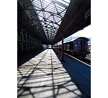 The Longest Railway Platform in NZ Photographic Print