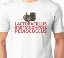 Sour & Funky Wild Beer - Lactobacillus - Brettanomyces - Pediococcus Unisex T-Shirt