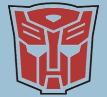autobot - red Kids Clothes