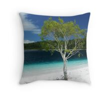 Lake McKenzie - Fraser Island, Australia Throw Pillow