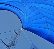 Blue sail by andreisky