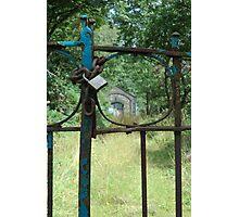 Boathouse Gate Photographic Print