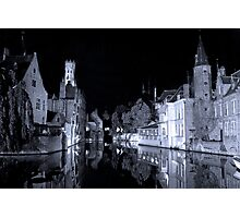 Brugges (A world heritage site) Photographic Print