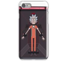 Rick and Morty-- Jailed Rick iPhone Case/Skin