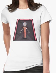 Rick and Morty-- Jailed Rick Womens Fitted T-Shirt