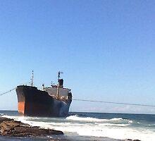 Stranded Ship by BigBlue222