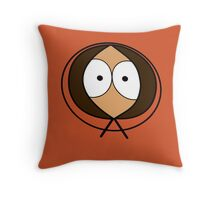 Kenny from south park Throw Pillow