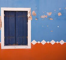 If A Window Shutter Could Talk by daphsam