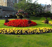 Garden in Pitlochry, Scotland by ElsT