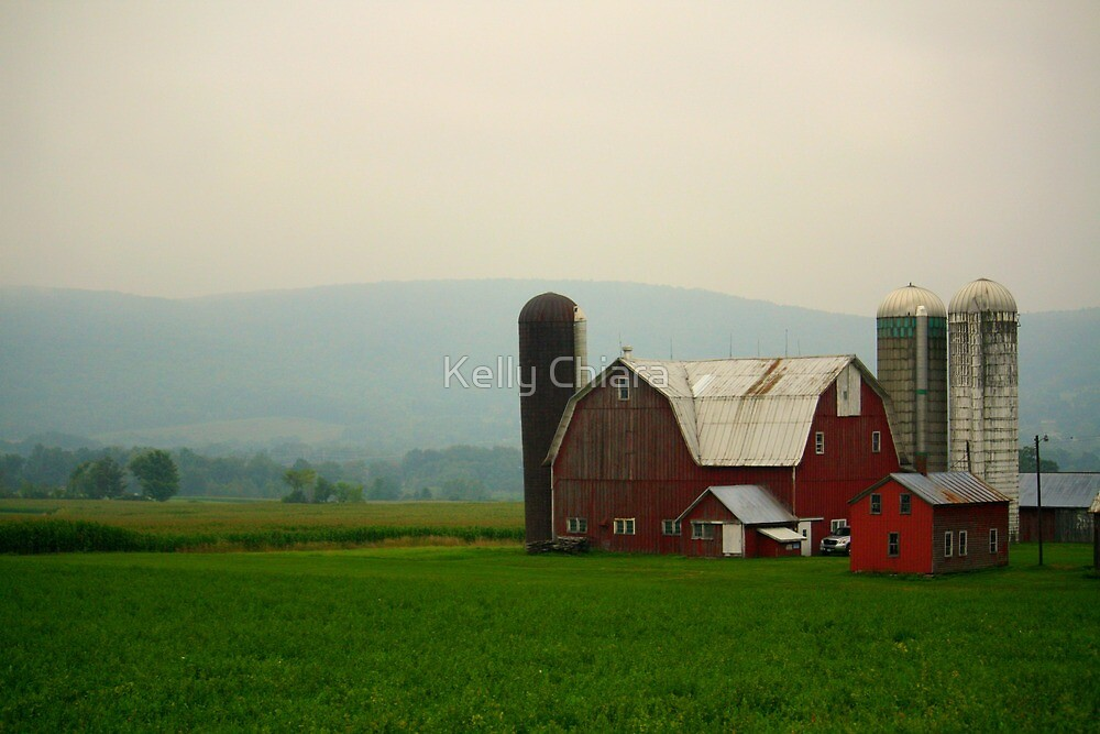 New York Farmstead by Kelly Chiara