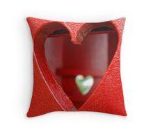 Look inside a heart Throw Pillow